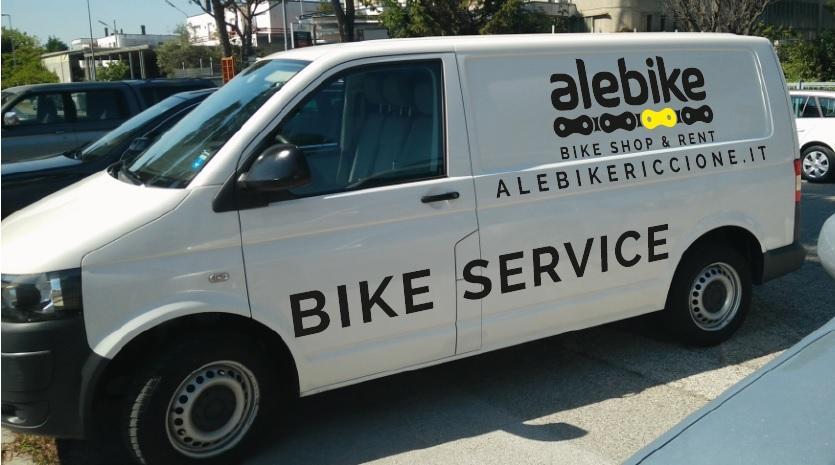 Consegna bici Riccione e ritiro a domicilio Hotel Ale Bike