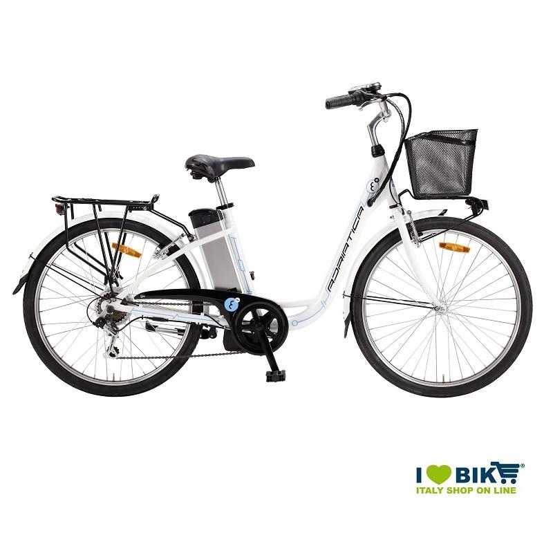 Riccione noleggio bici elettrica city bike donna uomo